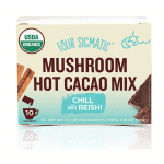 The Southern Well Being's Holiday Gift Guide featured by top US wellness blogger, Elizabeth Finch Wellness: image of Mushroom hot cocoa mix