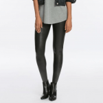 The Southern Well Being's Holiday Gift Guide featured by top US wellness blogger, Elizabeth Finch Wellness: image of Spanx faux leather leggins
