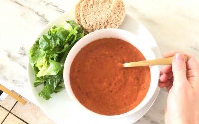 Creamy Vegan Tomato Bisque