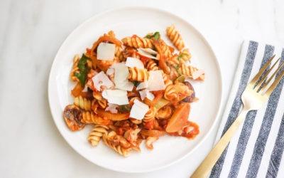 Mediterranean Veggie Pasta Recipe