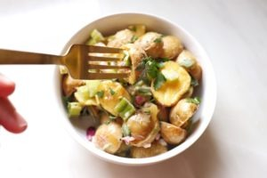truffle roasted potato salad recipe