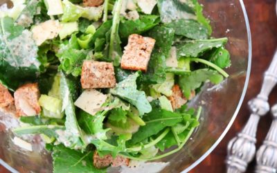 Practically Homemade Easy Caesar Salad Recipe
