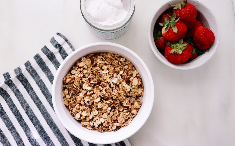 Healthy Homemade Cacao and Almond Butter Granola Recipe