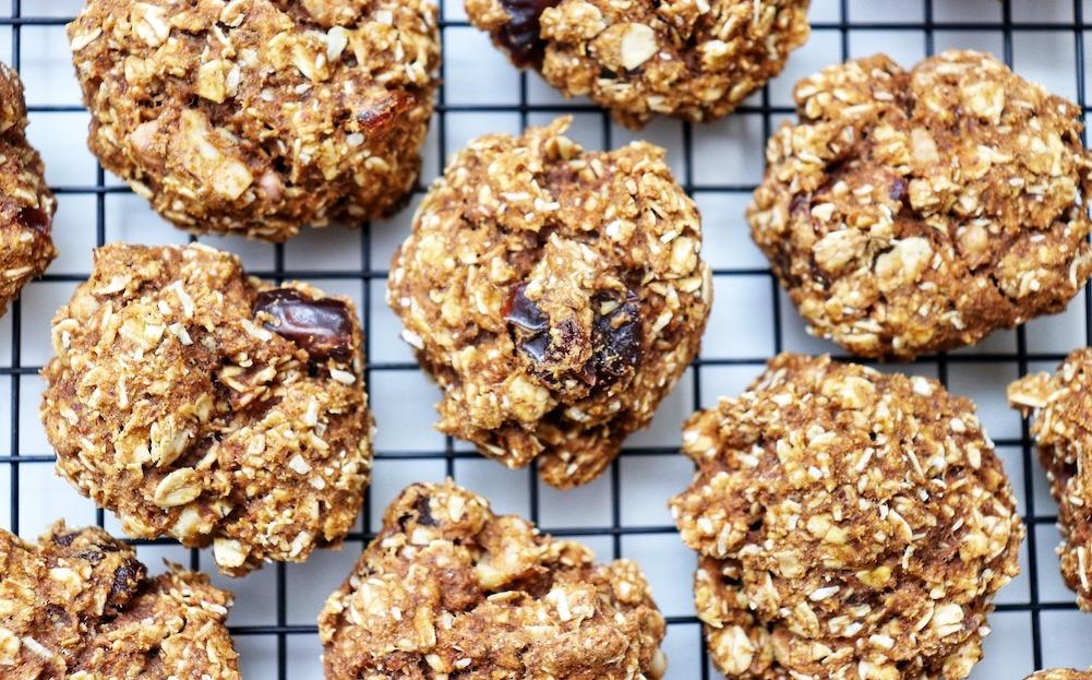 pumpkin date cookies recipe featured by top US wellness blogger, Elizabeth Finch Wellness