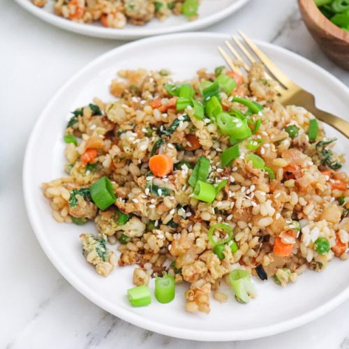 Homemade Fried Rice | Elizabeth Finch Wellness