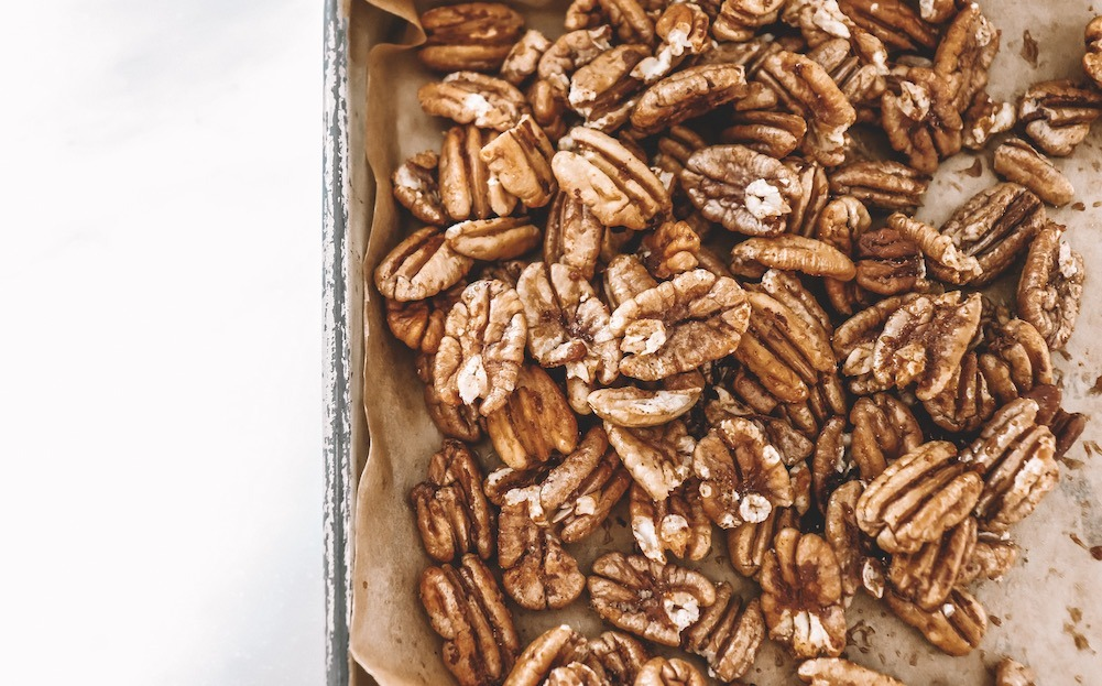 Sweet & Spicy Roasted Pecans Recipe