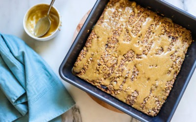 Salted Caramel Baked Oatmeal