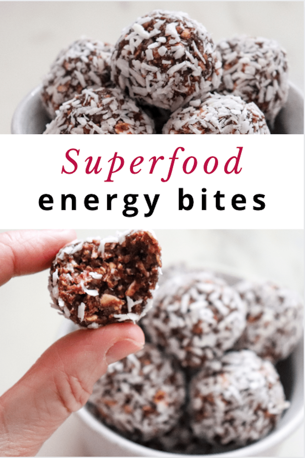 superfood energy bites