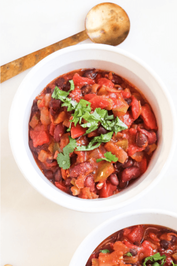 three bean superfood chili