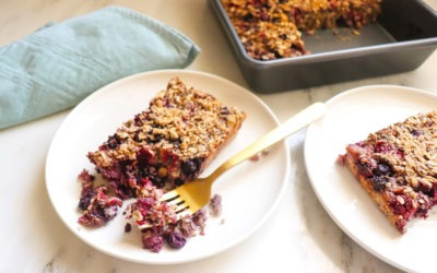 Cherry Berry Baked Oatmeal Recipe