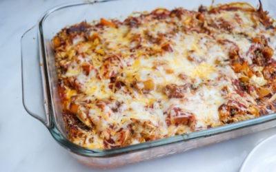 Easy Dinner Ideas: Healthy Chicken Enchilada Bake