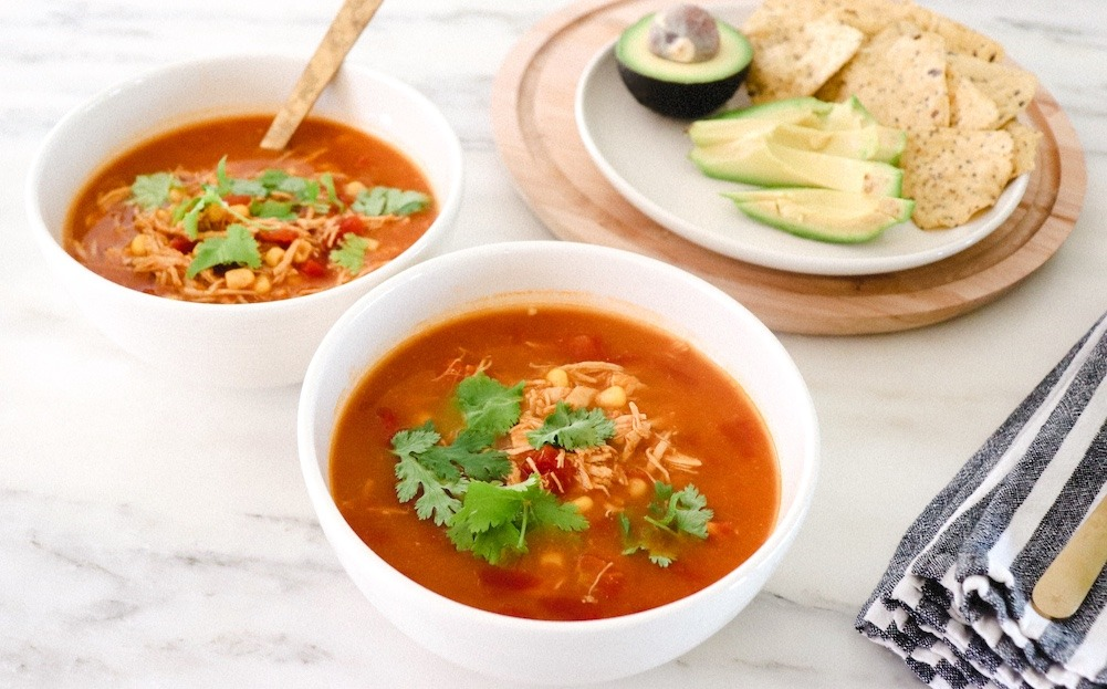 easy chicken taco soup