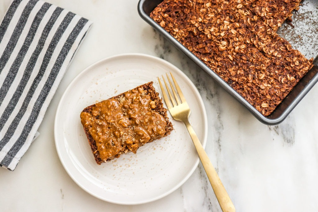 gingerbread baked oatmeal recipe