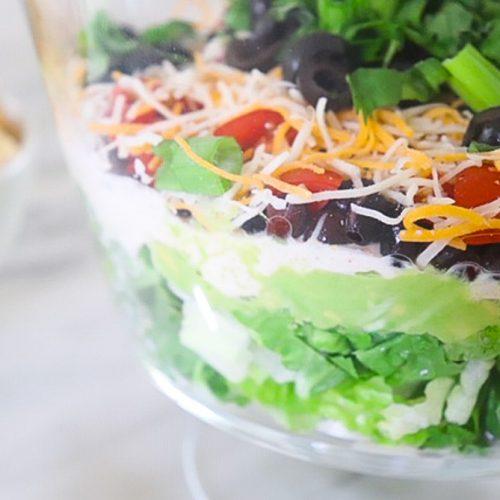 Healthy 7 Layer Dip | Elizabeth Finch Wellness