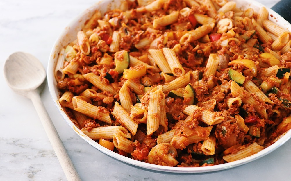 Easy Pasta Dish: Delicious Vegan Bolognese Recipe