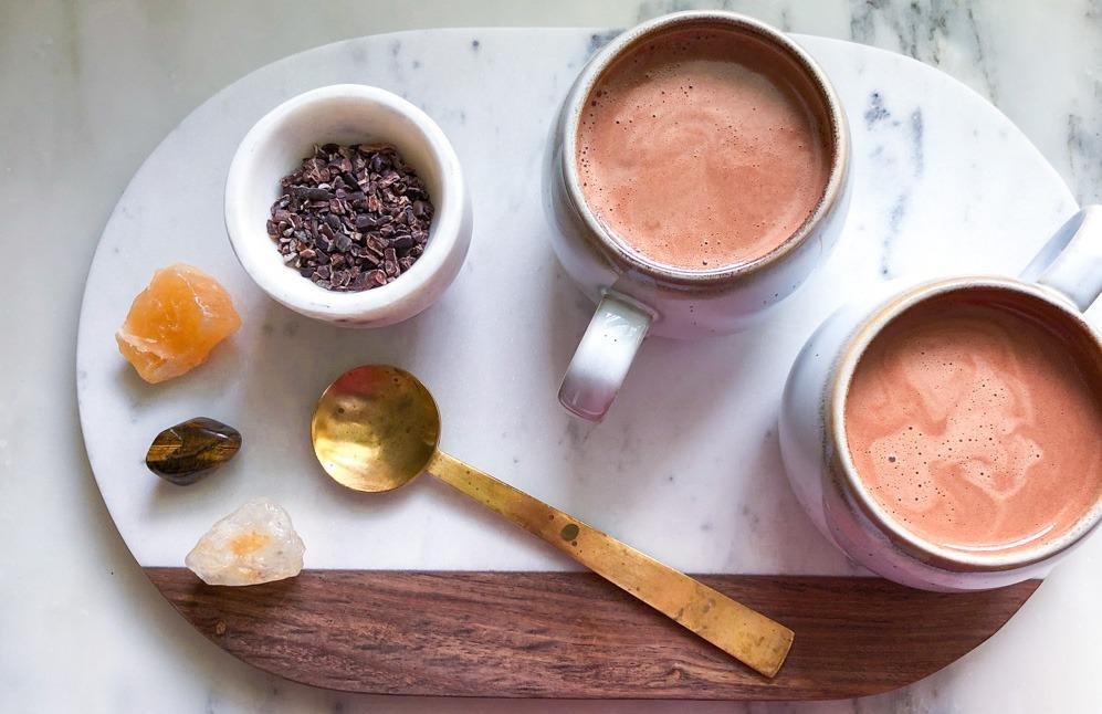 Warm Cacao Latte | Elizabeth Finch Wellness
